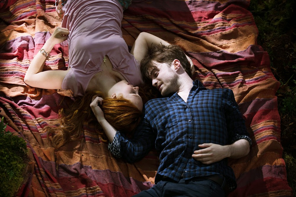 Juno Temple and Daniel Radcliffe in Horns