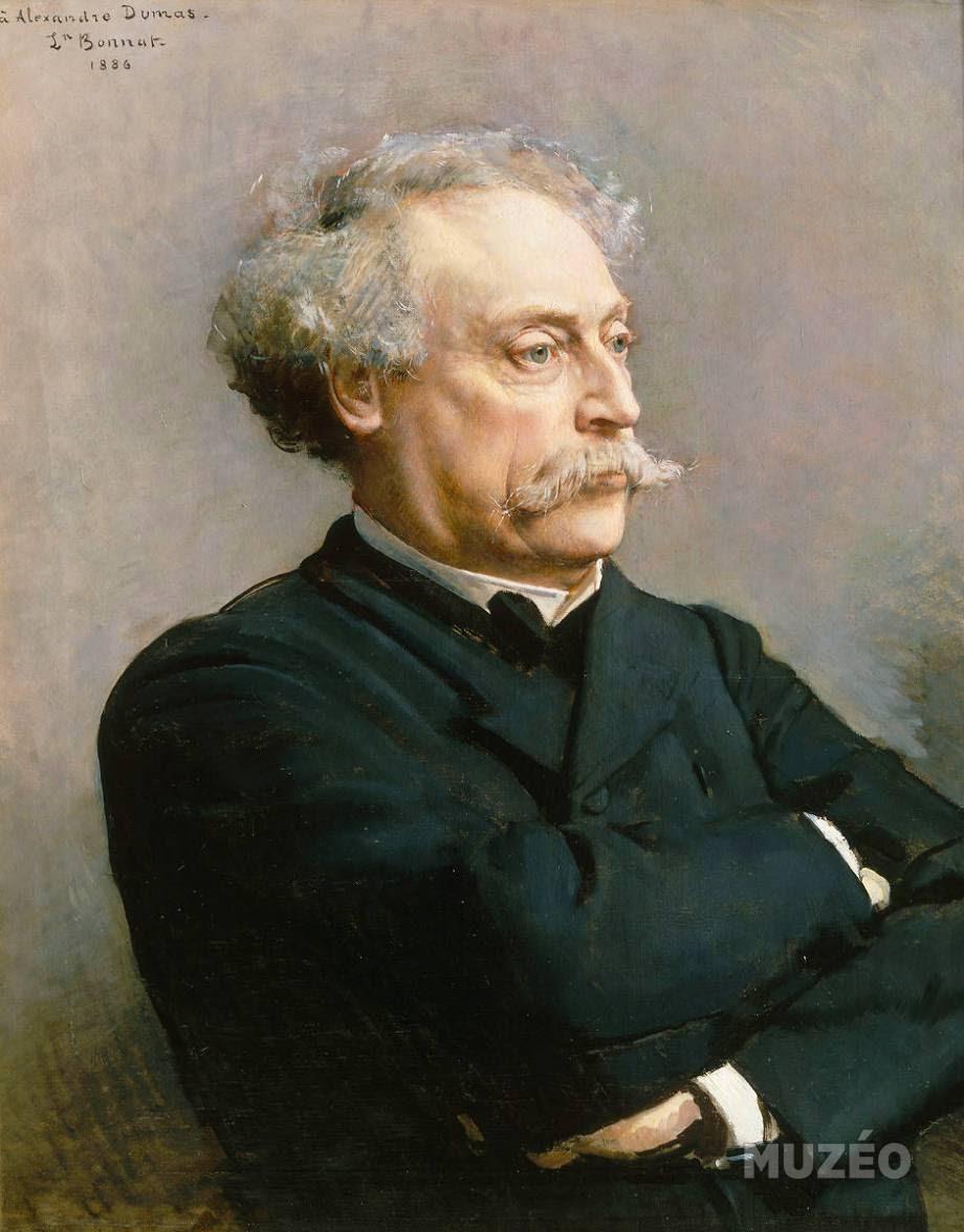 Leon  onnat Alexandre Dumas