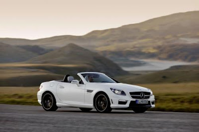 Mercedes SLK 55 AMG 2012 wallpaper