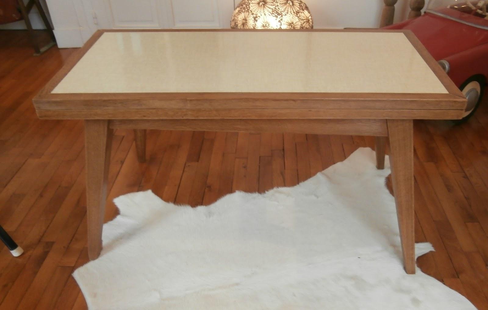 Dur e de vie ind termin e rare table basse portefeuille - Charniere table basse relevable ...