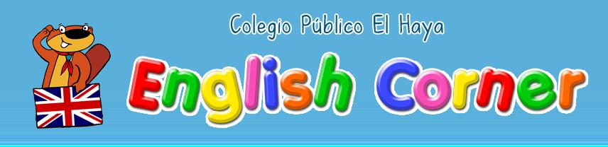 English Corner del Colegio Público El Haya