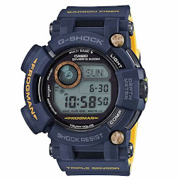 CASIO G-SHOCK FROGMAN NAVY BLUE GWF-D1000NV - TRIPLE SENSOR - TOUGH SOLAR - BRAND NEW IN BOX