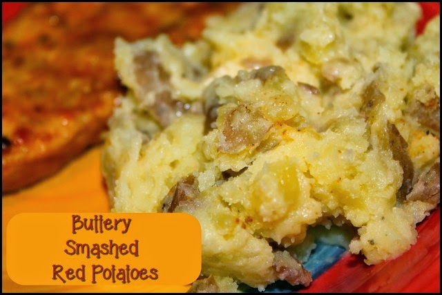 Recipe: Buttery Smashed Red Potatoes