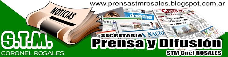 Secretaria de Prensa y Difusion STM Cnel Rosales