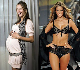 Celebrity Mom Before and After