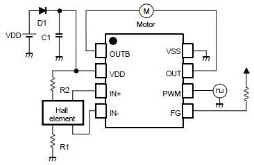 nju7365 single phase dc brushless motor wiring diagram reference rh circuitreference blogspot com