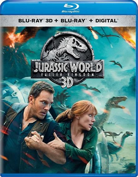 Jurassic World: Fallen Kingdom 3D (Jurassic World: El reino caído 3D) (2018) m1080p BDRip 3D Half-OU 23GB mkv Dual Audio DTS-X 7.1 ch