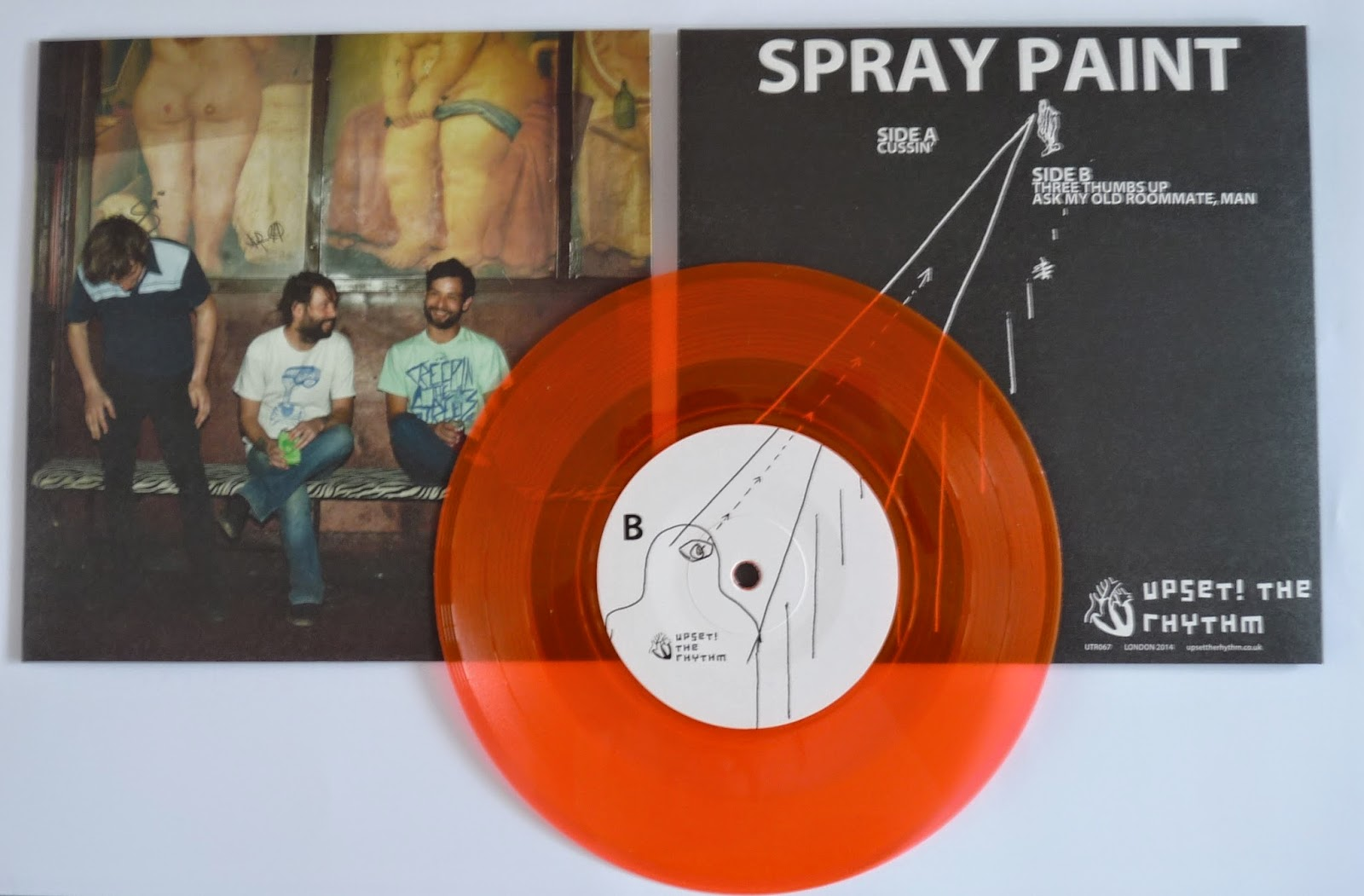 Upset The Rhythm Spray Paint 7 Now In Stock