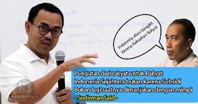 Sudirman Said dan Jokowi
