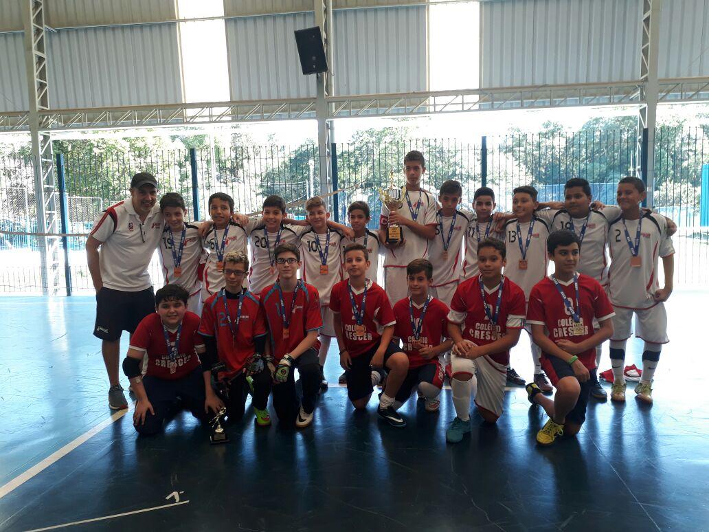 Sub12 Campeão INTERESCOLAR 2017