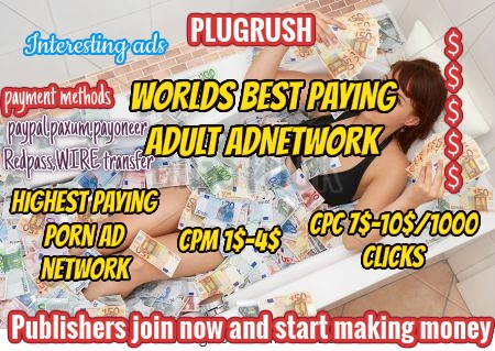 Plugrush best adult ad network