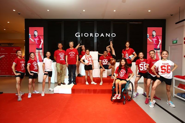 2013 Giordano X Team Singapore Tee Media Launch 2