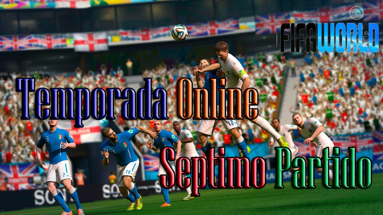 Fifa World Temporada Online   7mo Partido - Me tenia, era suyo y me dejo ir xD
