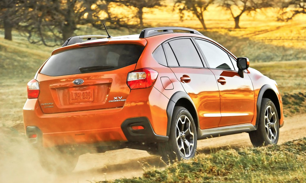 2013 Subaru XV Crosstrek orange