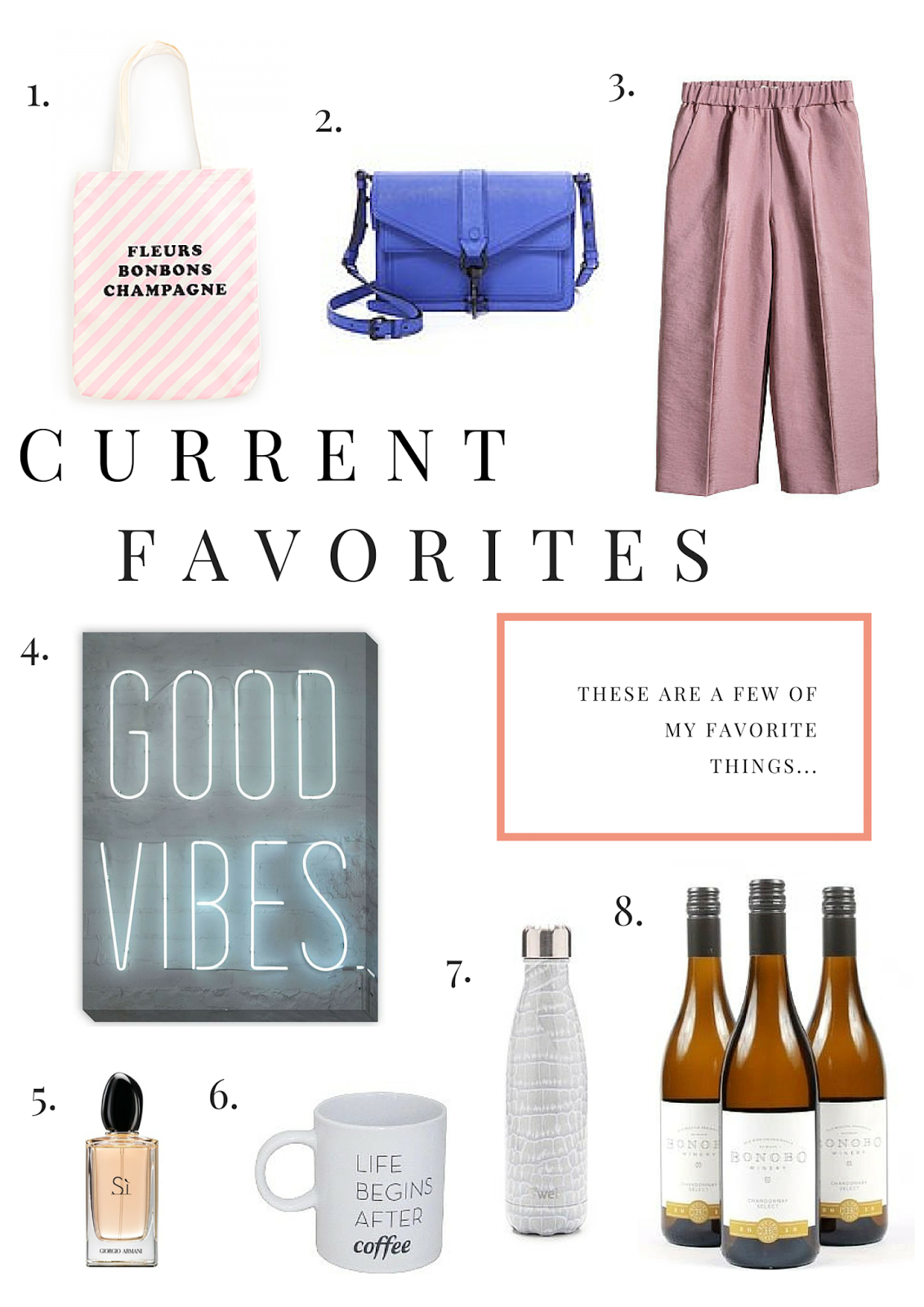 Current Favorites, Beauty, Fashion, Interior Design, Project Soiree