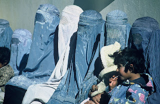 afghan woman in burkas