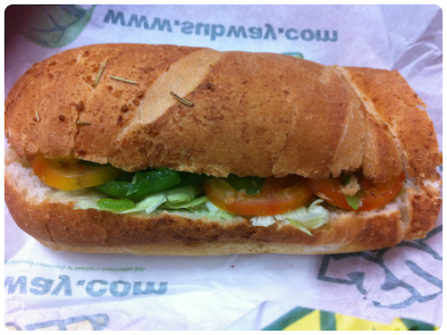 Subway Eastwood City - BLT
