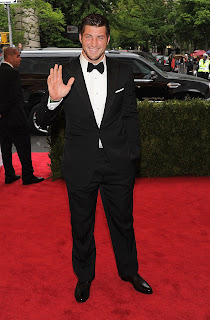 Tim Tebow in Met Gala 2012