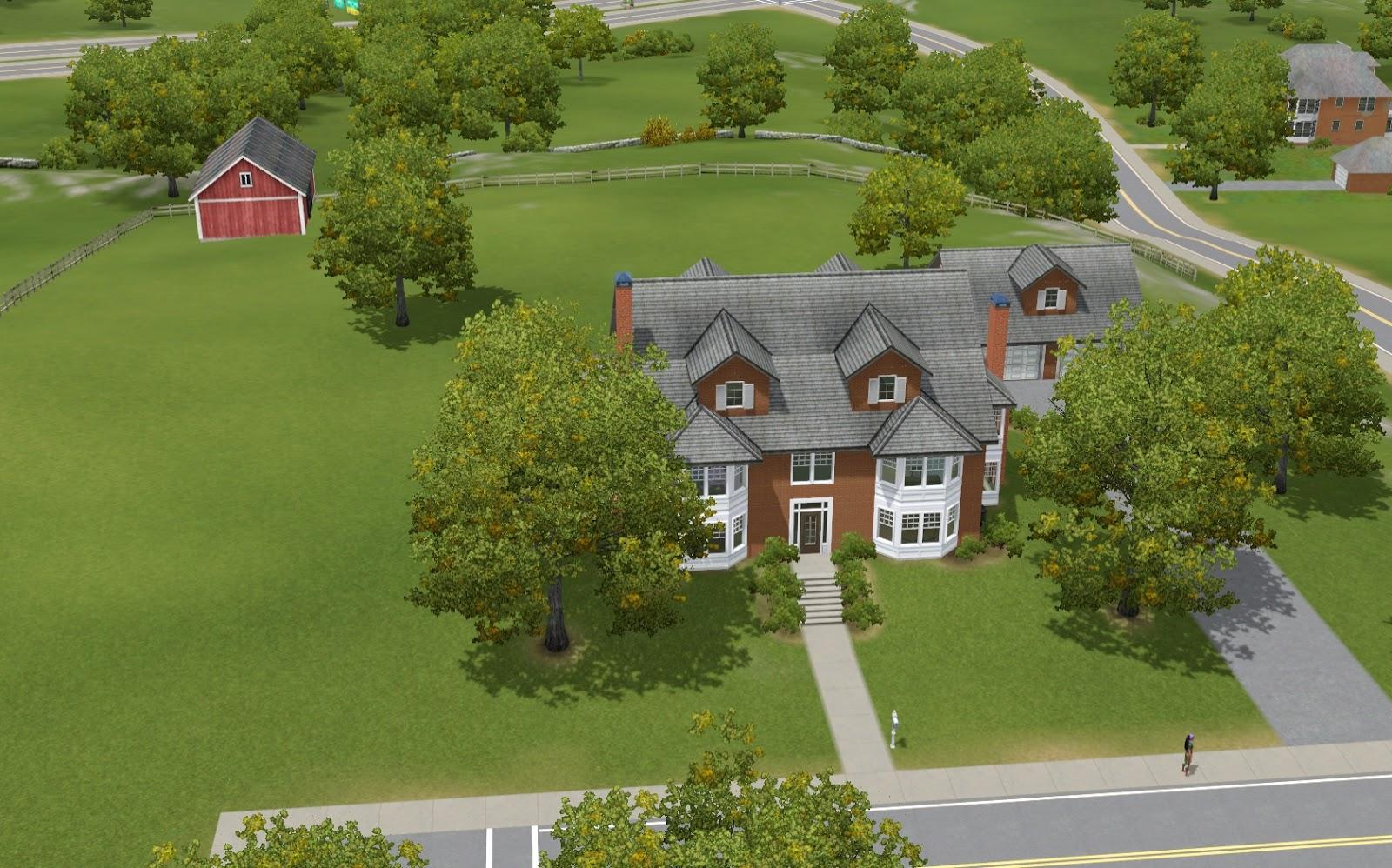 Summers Little Sims 3 Garden University The