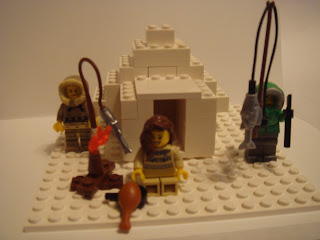 Building Legos With Christ - Canadian Inuit Study - Lego Creation - My Father's World Study