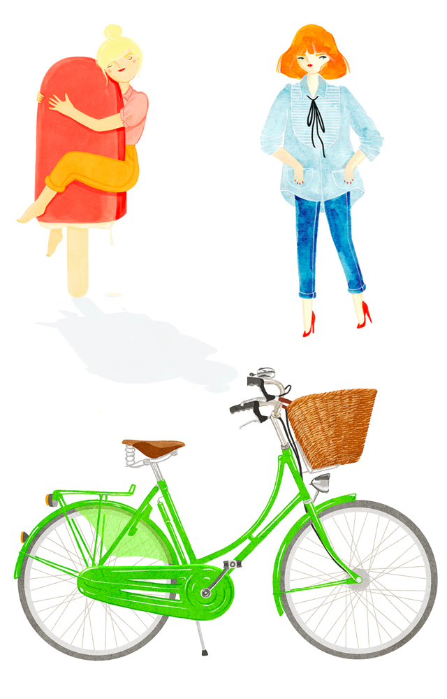 fashion illustrations by kris atomic