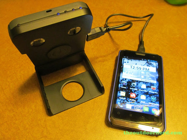 Waka Waka Power: Solar Lantern And Mobile Charger, Charging ZTE Engage With Special Charging Cable