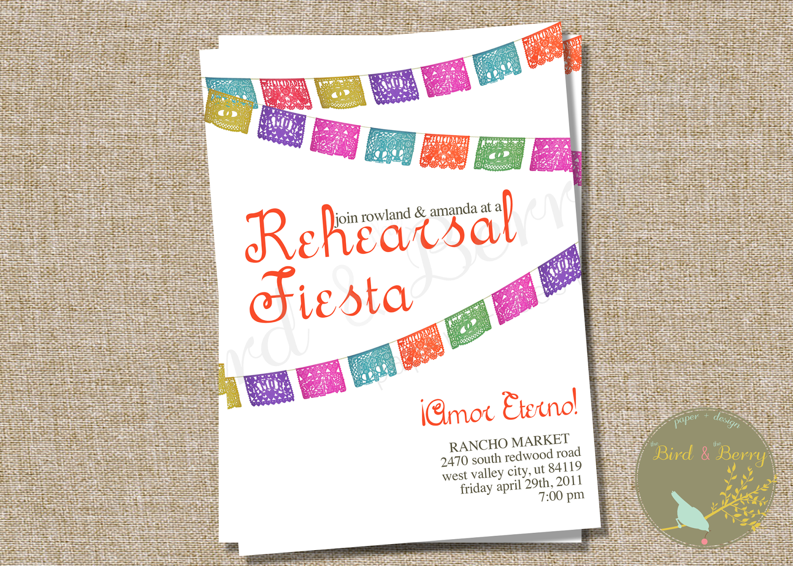 Fiesta Invitation Printable