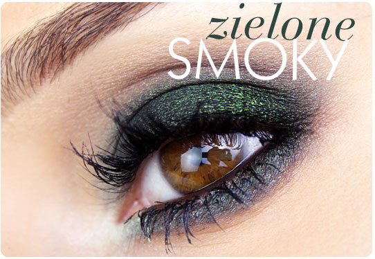 Alina Rose Blog Kosmetyczny Makijaż Zielone Smoky Eyes Krok Po Kroku