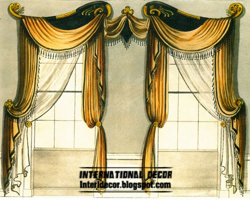 Types of curtain tops