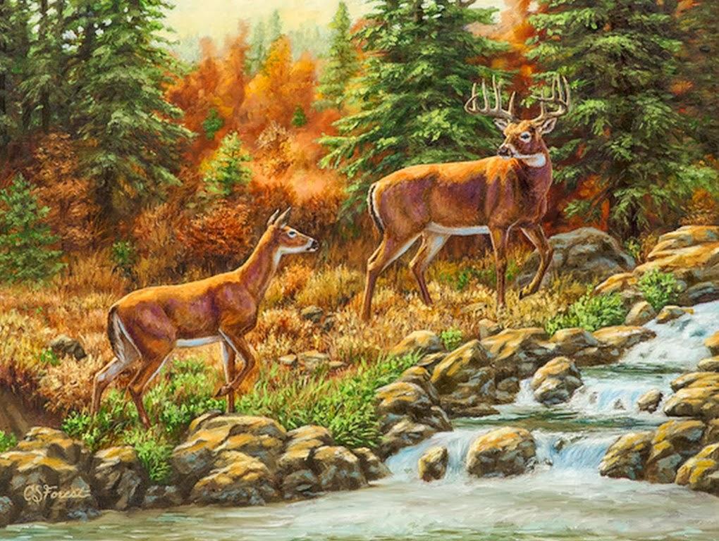 animales-en-paisajes-pintados-con-oleo