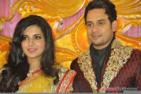 Celebraties at Actor Bharat n Jessy Wedding Reception Photos+%252863%2529 Actor Bharath n Jessy Wedding Photos