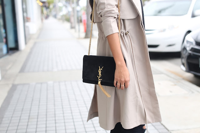 ysl bag, how to style YSL casually, fall outfit ideas