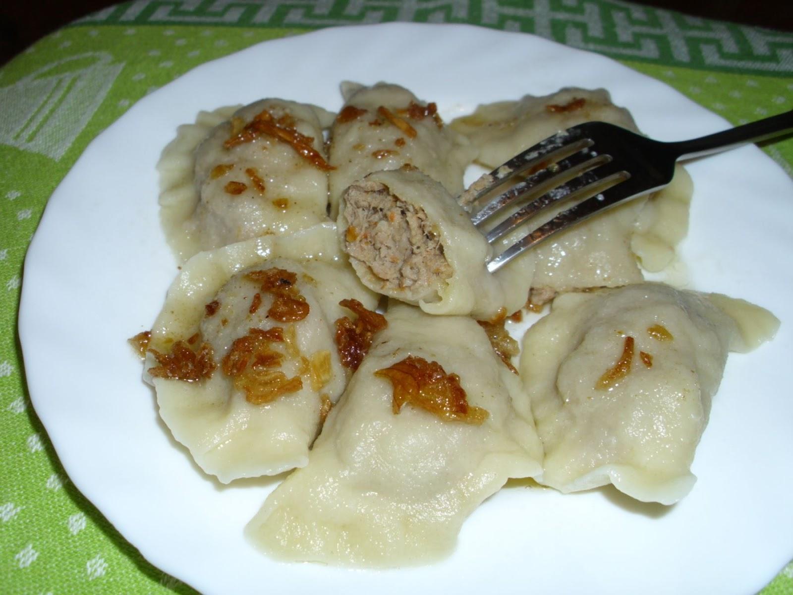 Moja Kuchnia Pachnaca Barszczem Pierogi Z Miesem Wg Babci Broni