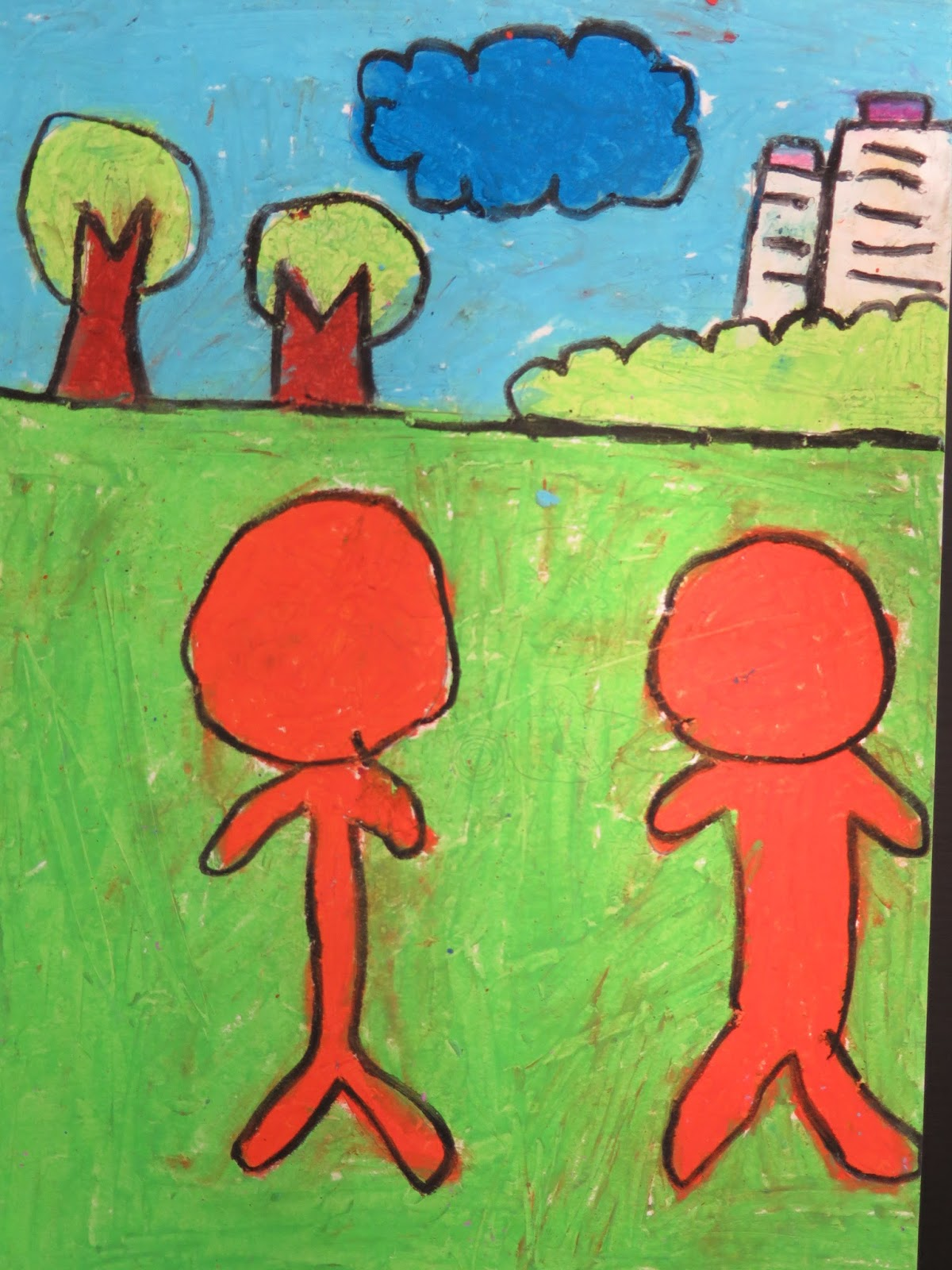 Pei Tong Primary School Art: Warm and Cool Colours
