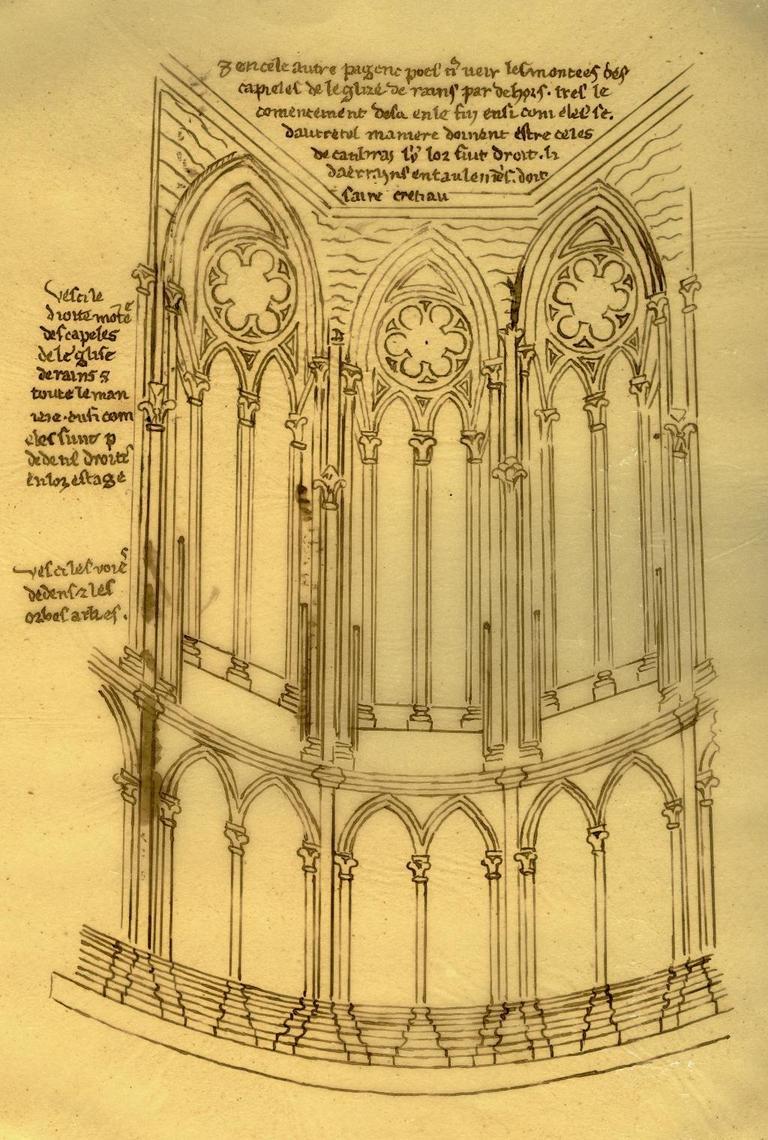 Architectureblog l 39 architettura gotica parte ii i for Disegno di architettura online