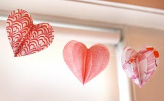 corazones para decorar en san valentin