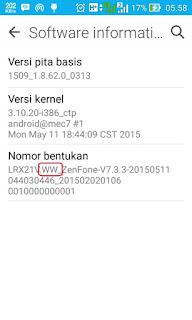 Update Manual Asus Zenfone ke Lollipop
