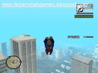Gta san andreas superman cheats