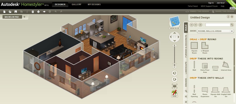 Mister descargas dise a tu casa for Disenar casa online con autodesk homestyler