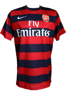Kostum Away Arsenal 2012-2013