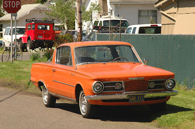 1965 Plymouth Barracuda.