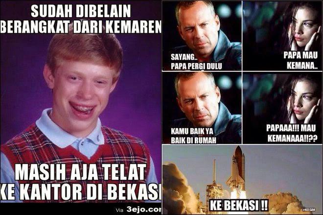 Meme Jakarta di Bully Warga Bekasi