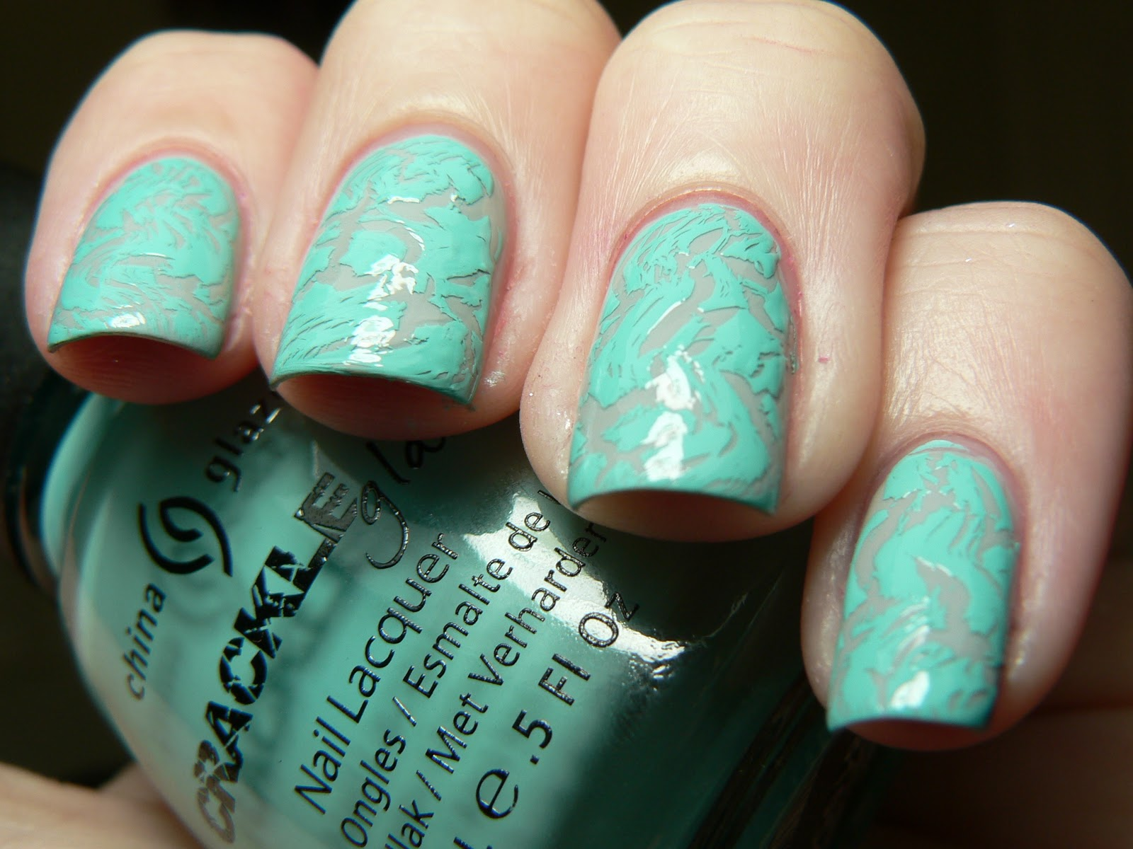 the very pretty Crushed Candy from China Glaze's Crackle Collection