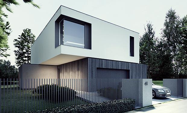Rumah Desain Modern Futuristik