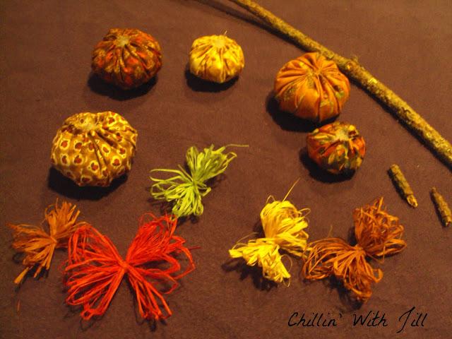Fabric Pumpkin Craft Tutorial | Daily Dish Magazine