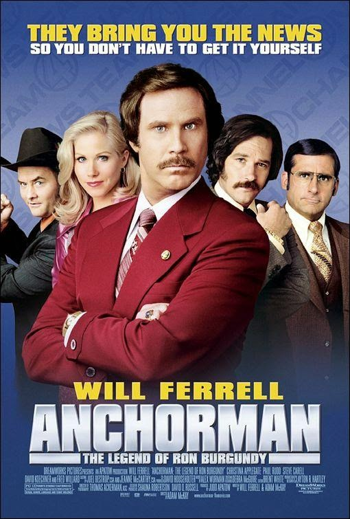 Ver Anchorman: The Legend of Ron Burgundy (2004) Online