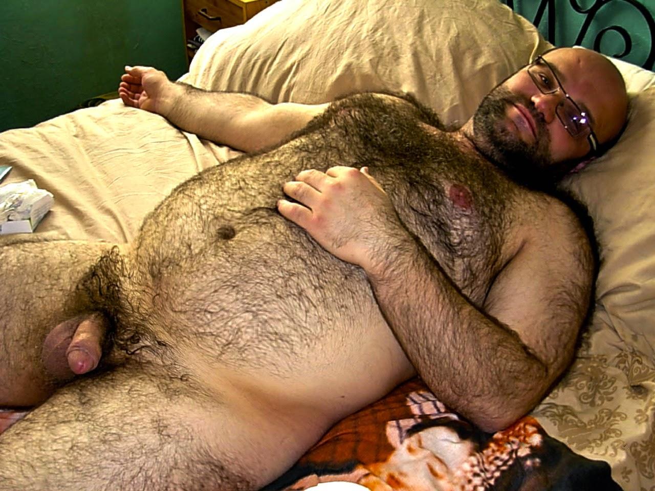 Волосатый голый мужик @ 69-porno.ru