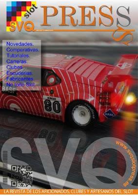 Disponible el nº 13 de la Revista SVQ-SLOT PRESS Portada+13