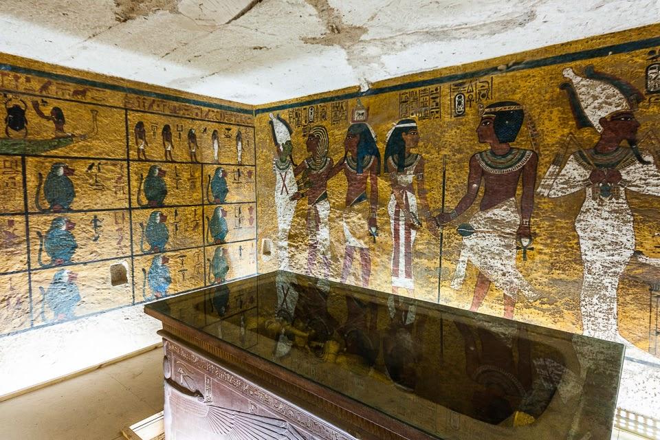 Tutankhamon fáraó sírkamrája
