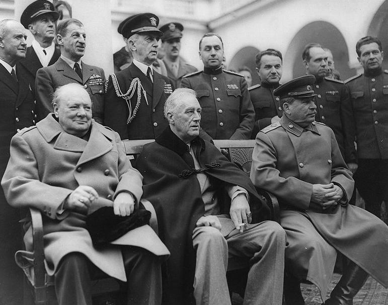 Winston Churchill Zitate beim Familienfunk